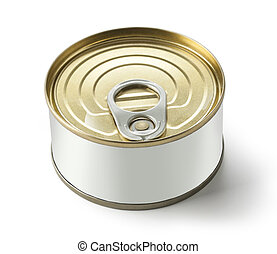Can with blank