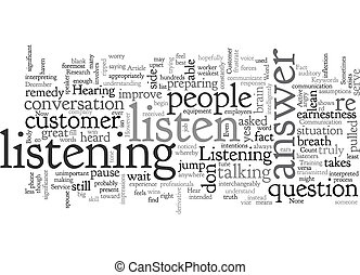 Can You Hear Me Now text background wordcloud concept