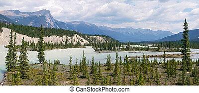 Canadá,  Alberta, paisagem