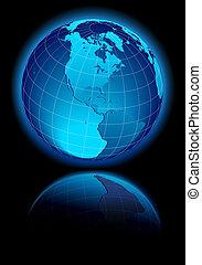 canadá, américa, sur, estados unidos de américa, mundo