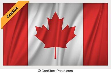 canadá, bandeira nacional