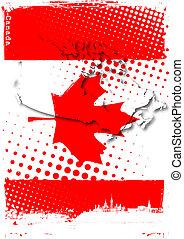 canadá, cartaz