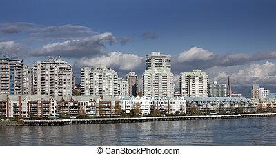 canadá, ciudad, colombia, moderno, británico, westminster,...