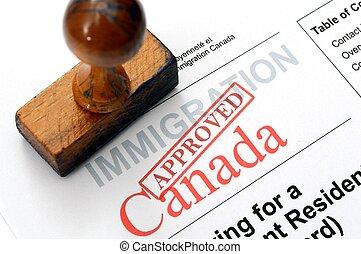 canadá, inmigración
