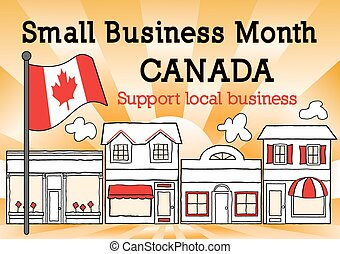 canadá, mês, negócio, pequeno