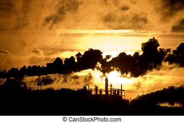 canadá, poluição industrial