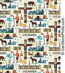 canadá, viaje, colección