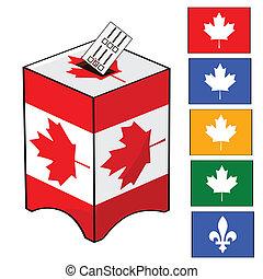 canada, élection