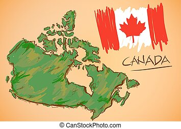 canada αντιστοιχίζω , εθνικός , μικροβιοφορέας , σημαία