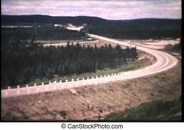 canada, (1964), travers, conduite