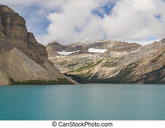 canada,  Banff, nazionale, arco, parco, lago,  Alberta