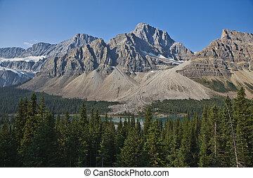 canada, canadese, -, nazionale, rockies, parco, diaspro, alberta