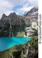 canada, colombie, yoho, national, lac, britannique, parc, o'...