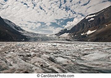 canada, columbia, parco, nazionale, -, diaspro, alberta, icefield