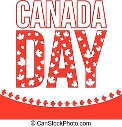 canada, conception, jour, célébration