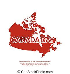 Isolated canadian map on a white background vector eps vectors