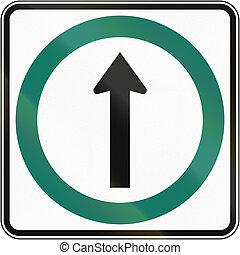 canada, directement, direction