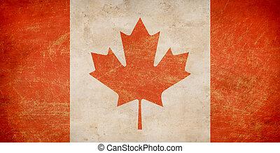 canada, drapeau, feuille, Érable