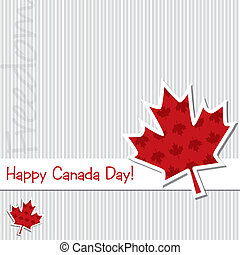 canada, felice, day!