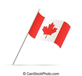 Canada  Flag Illustration
