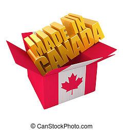 canada, gemaakt