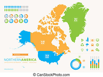 canada, infographic