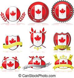 canada, insignes