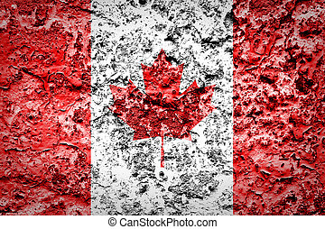 canada kaart, het tonen, achtergrond, zakenman, globe