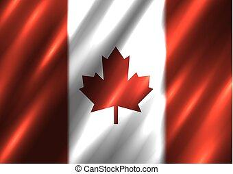 Canada national flag background