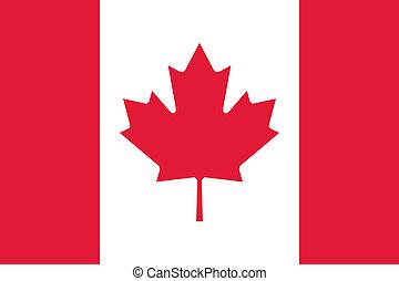 canada, nationale vlag