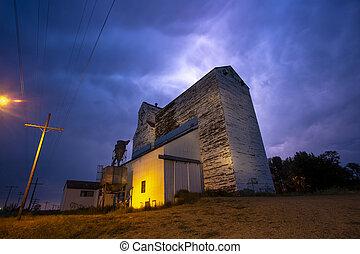 canada, orage, éclair