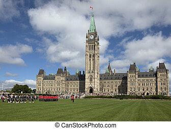 Canada - Parliament Hill in Ottawa