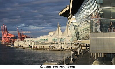 Canada Place and Convention Centre - Waterfront, Canada...