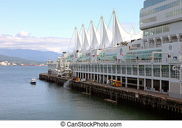 Canada Place, Vancouver BC Canada.