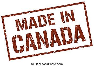 canada, postzegel, gemaakt
