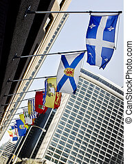 Canada Provincial Flags