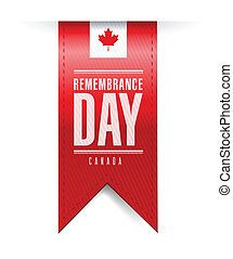 canada remembrance day texture banner
