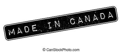 canada, rubber, gemaakt, postzegel
