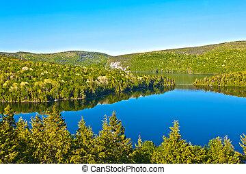 canada,  sacacomie, Lac,  Québec