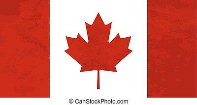 canada, struttura, proporzioni, vero, bandiera