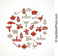 Canada symbols
