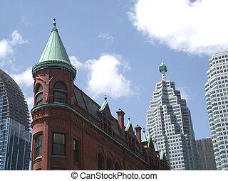 canada,  Toronto,  gooderham, costruzione