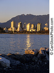 canada, vancouver, downtown-