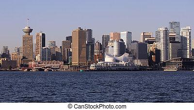 canada, vancouver, en ville, jésus-christ