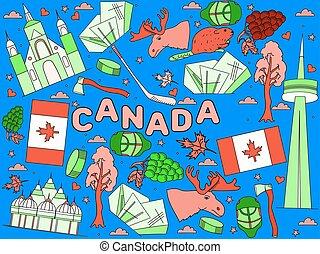 Canada vector illustration