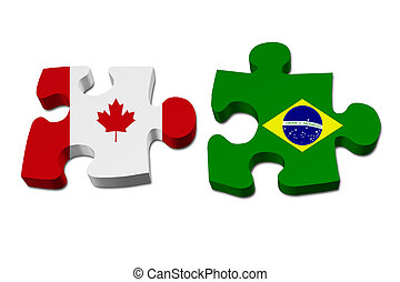 Canada working with Brazil