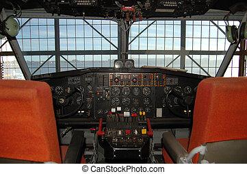"""Canadair"" cockpit"