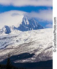 canada's, montagne, parco, diaspro