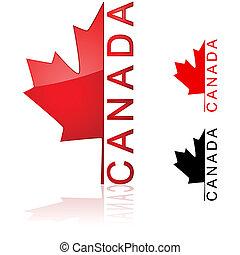 canadense, ícone