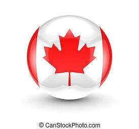 canadense, icon., bandeira